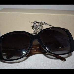 ef9520658294 Burberry Accessories - Burberry Black Luxottica style sunglasses